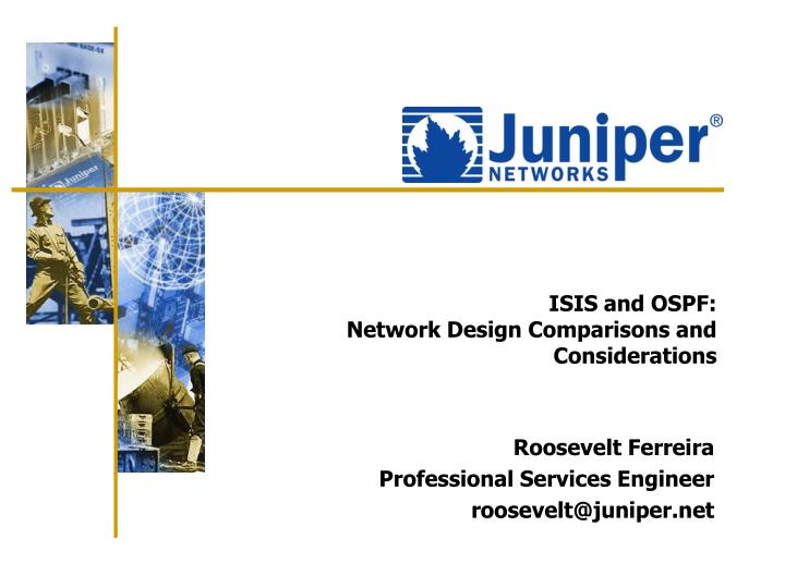 isis and ospf network design comparisons and considerations n.