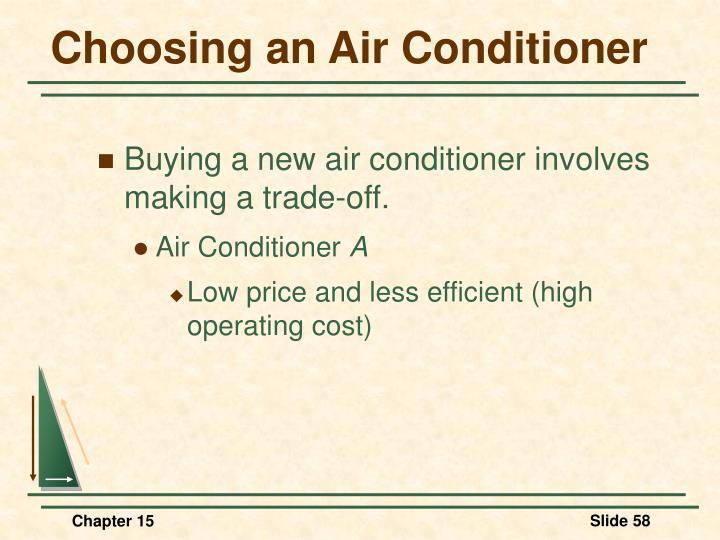 Choosing an Air Conditioner