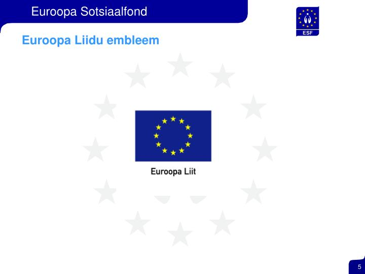 Euroopa Liidu embleem