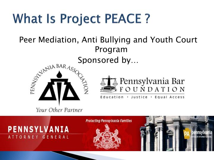 What is project peace