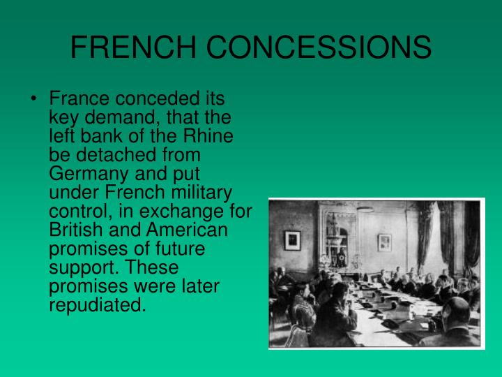 FRENCH CONCESSIONS