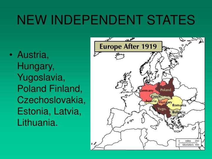 NEW INDEPENDENT STATES