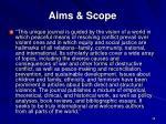aims scope