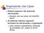 organizando use cases