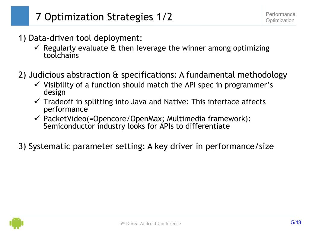 PPT - Optimizing Android Performance with GCC Compiler PowerPoint
