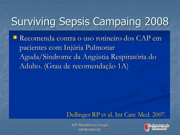 Surviving Sepsis Campaing 2008