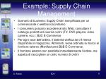 example supply chain management