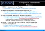competitive environment prot g