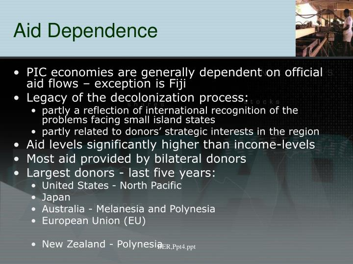 Aid Dependence