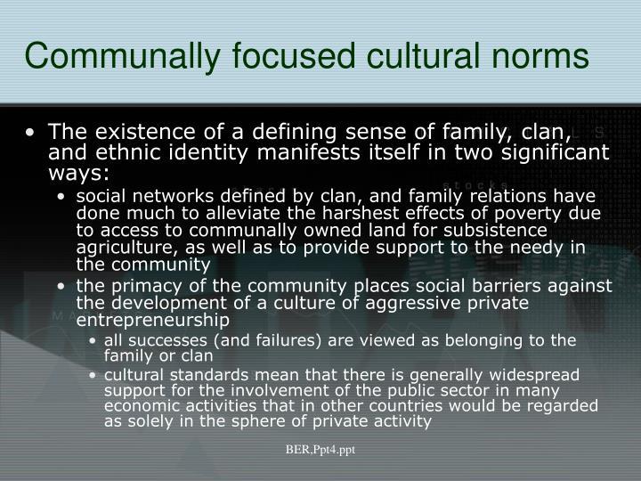 Communally