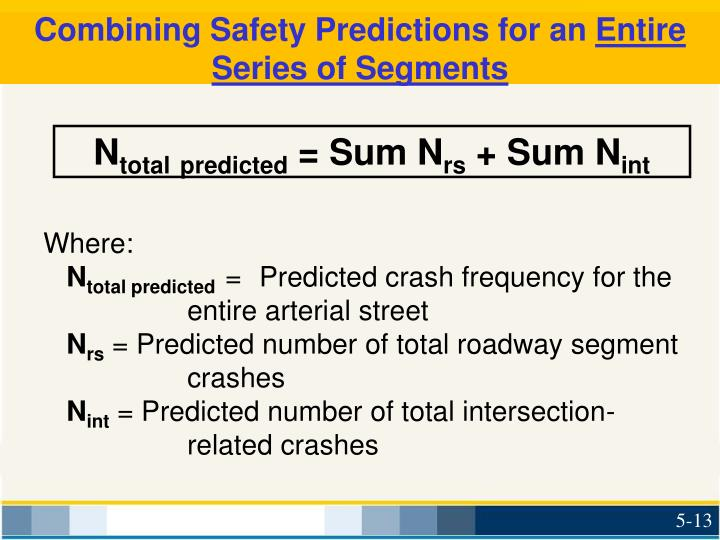 Combining Safety Predictions for an
