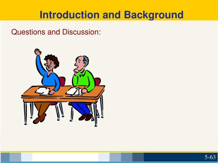Introduction and Background