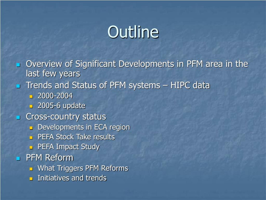 PPT - PFM Global Landscape PowerPoint Presentation - ID:4578049