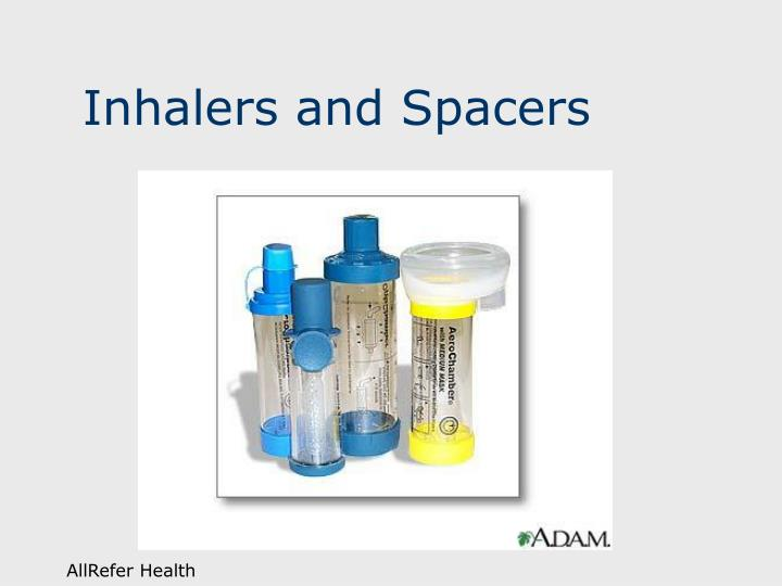 Inhalers and Spacers