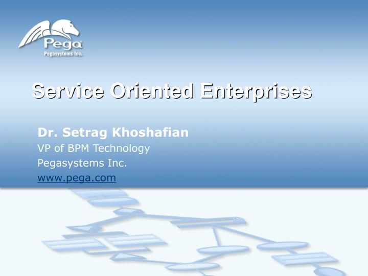 service oriented enterprises