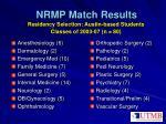 nrmp match results