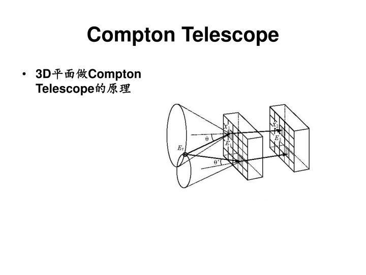 Compton Telescope