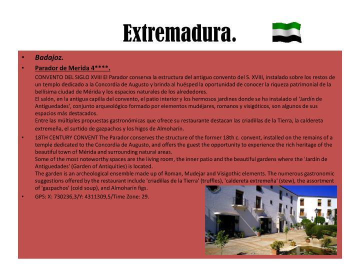 Extremadura.