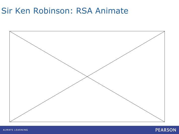 Sir Ken Robinson: RSA Animate