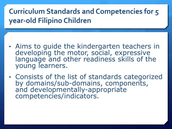 ppt - national kindergarten education curriculum guide for teachers powerpoint presentation