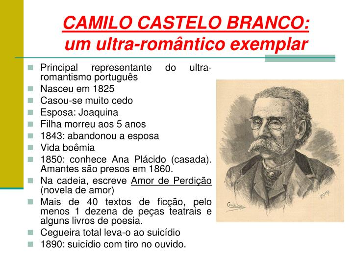 CAMILO CASTELO BRANCO: