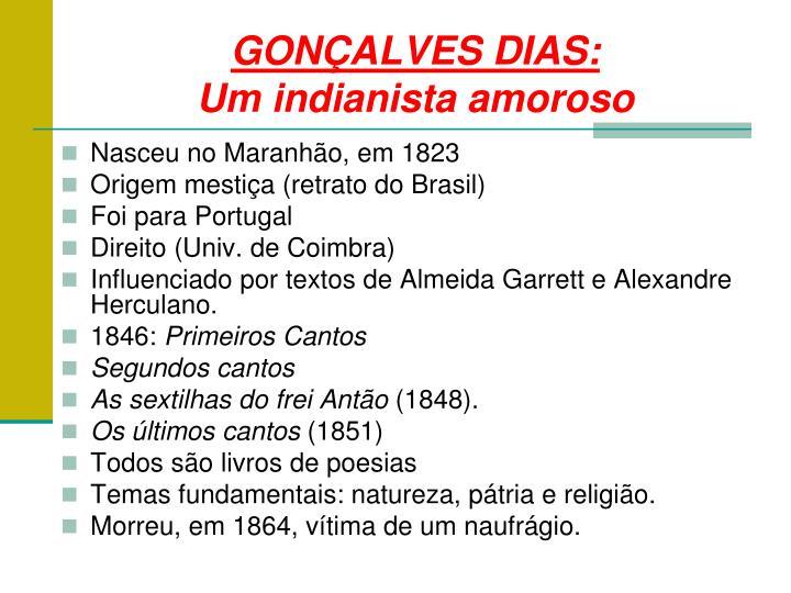 GONÇALVES DIAS: