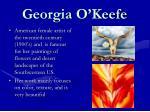 georgia o keefe