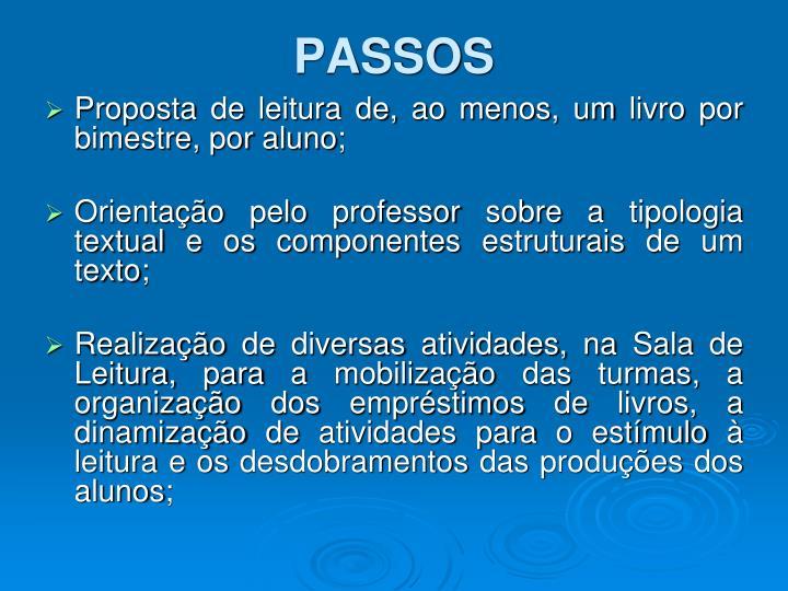 PASSOS