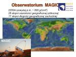 obserwatorium magic