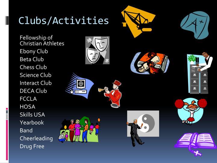 Clubs/Activities
