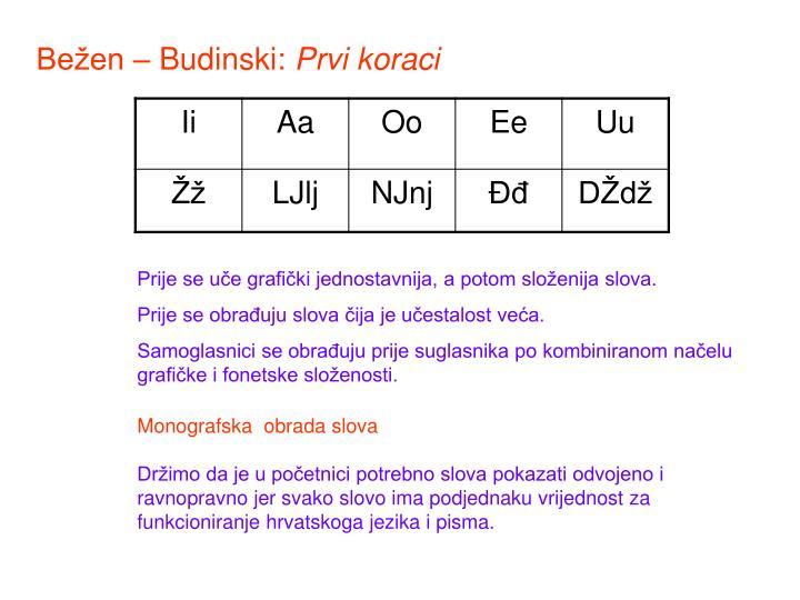 Bežen – Budinski: