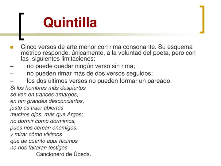 Quintilla