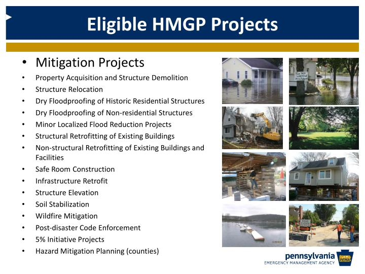 Eligible HMGP Projects