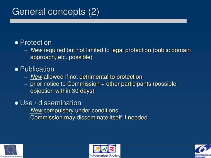 General concepts (2)