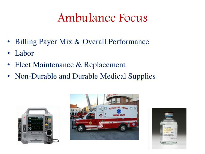 Ambulance Focus