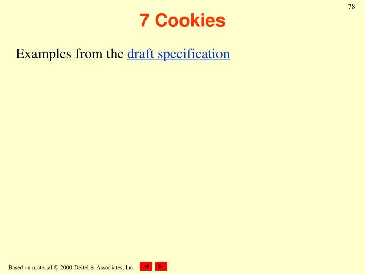 7 Cookies