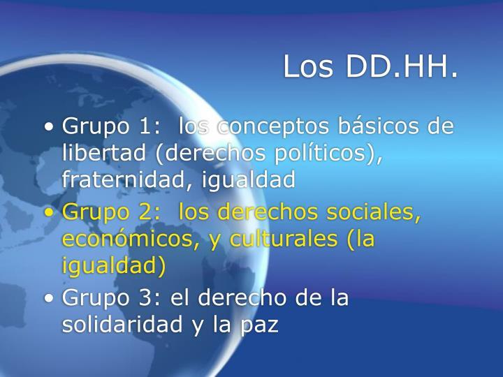 Los dd hh1