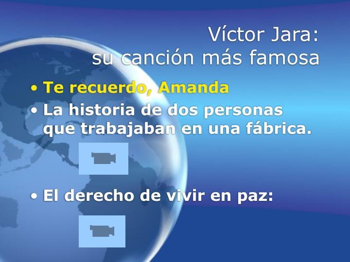 Víctor Jara: