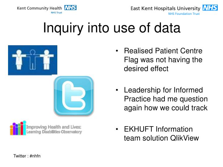 Inquiry into use of data