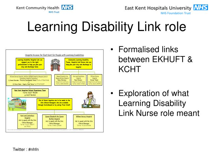 Learning Disability Link role