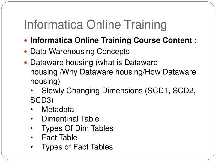 Informatica online training1