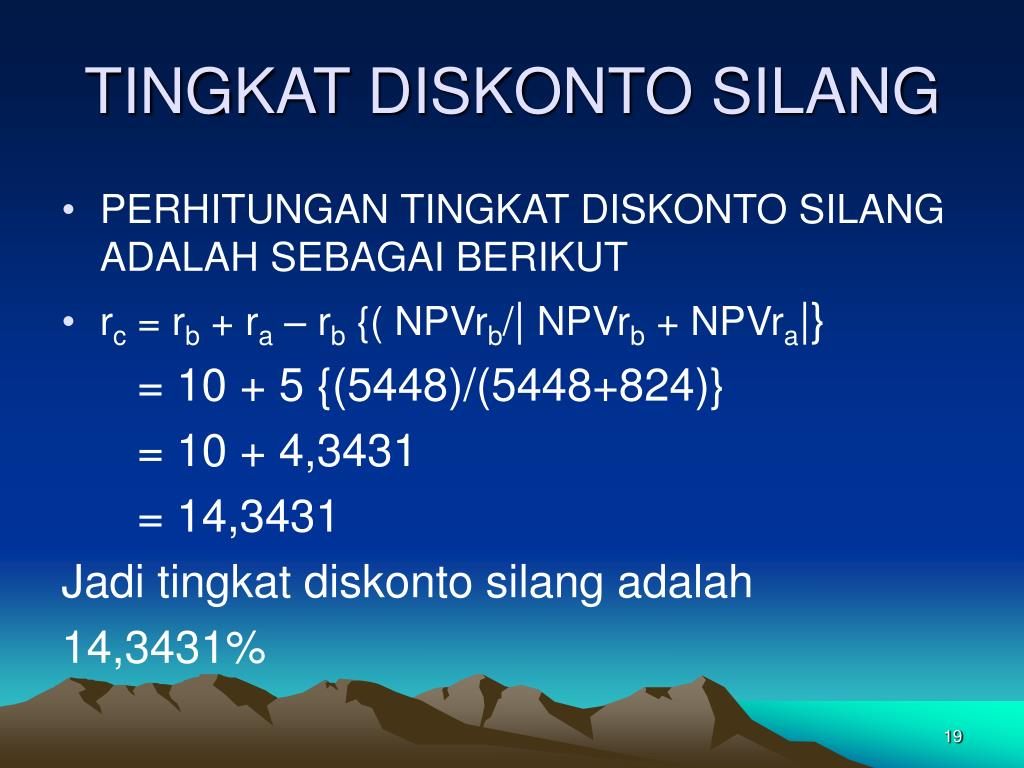 PPT - PENGANGGARAN MODAL PowerPoint Presentation - ID:4580531