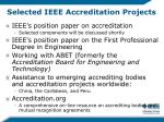 selected ieee accreditation projects