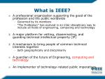 what is ieee