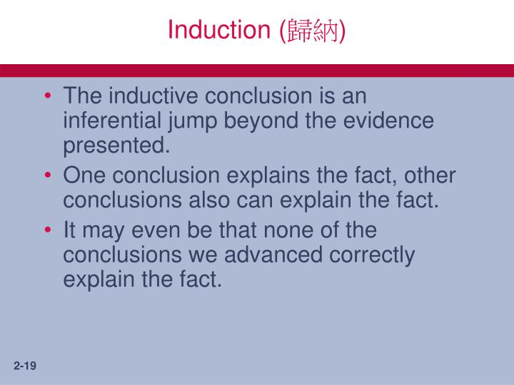 Induction (