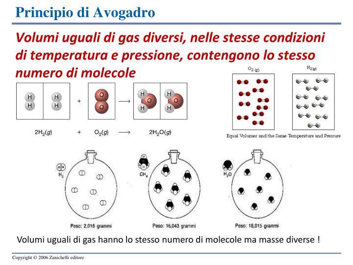 Ppt molecole e moli powerpoint presentation id 4580998 - Volumi uguali di gas diversi ...