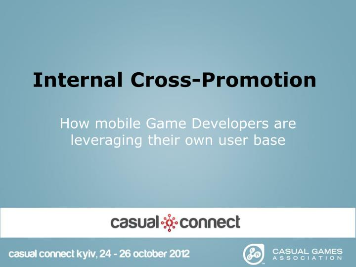 internal cross promotion n.