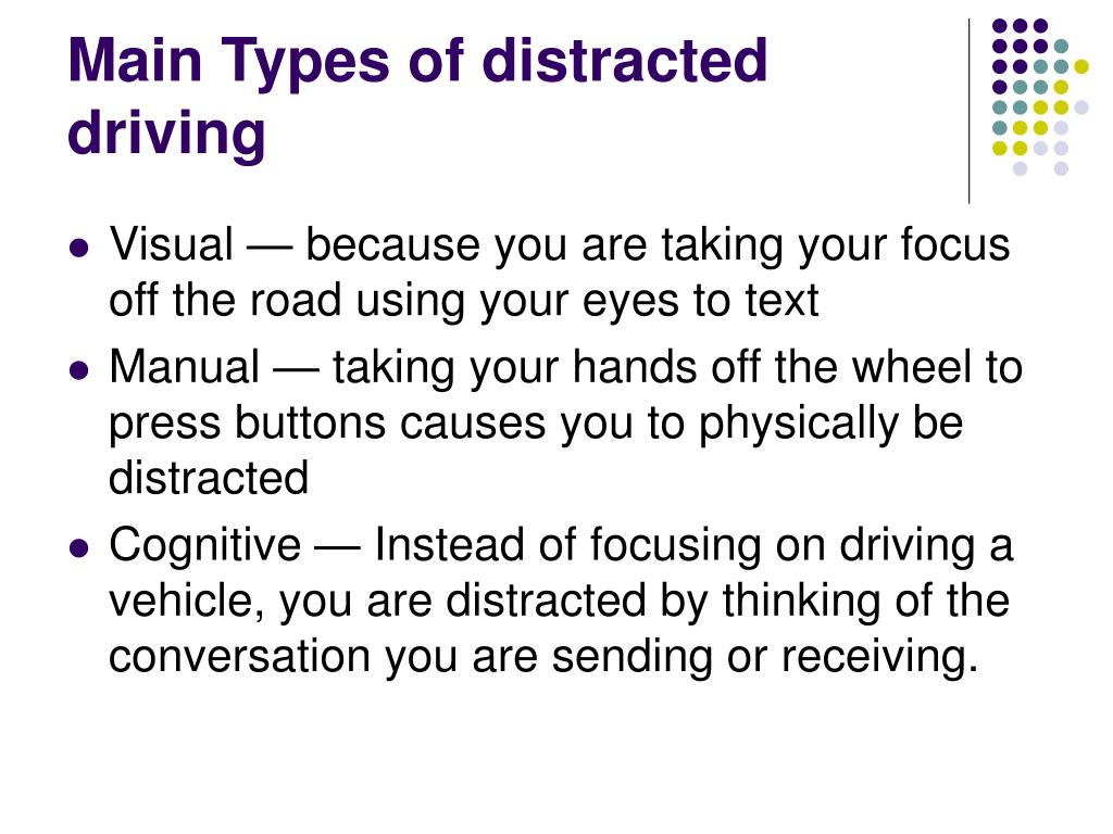 PPT - Texting while driving, To do or NOT to do? By