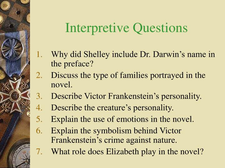 Ppt Epistolary Responses Amp Questions On Mary Shelleys