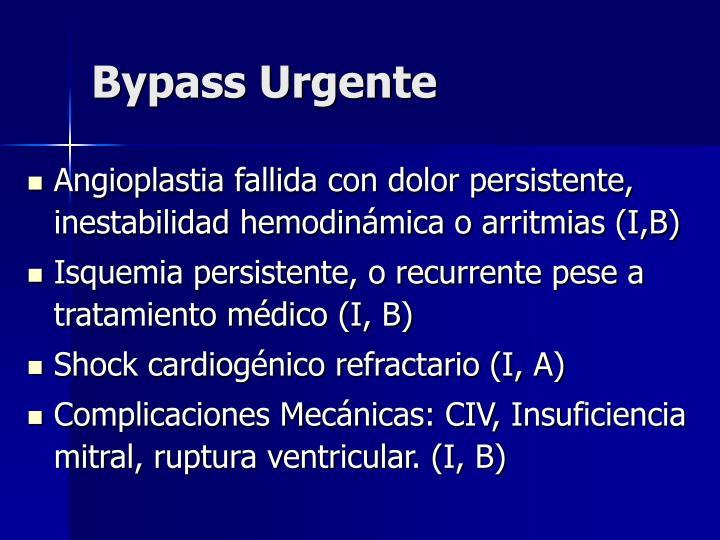 Bypass Urgente